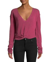 Free People - Got Me Twisted Sweater - Lyst