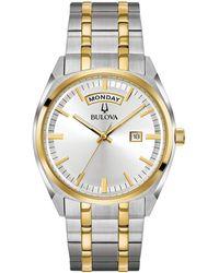 Bulova - Classic Link Bracelet Watch - Lyst
