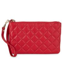 Lord & Taylor - Quilted Wristlet - Lyst
