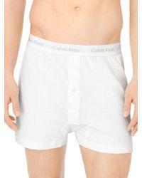 Calvin Klein | Cotton Classic 3 Pack Knit Boxer | Lyst