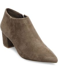Steven by Steve Madden - Suede Ankle Boots - Lyst