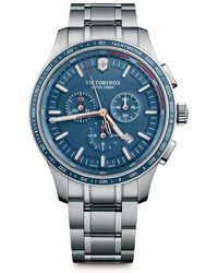Victorinox - Alliance Sport Stainless Steel Bracelet Watch - Lyst