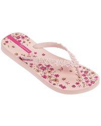 Ipanema - Flora Flip-flop Sandals - Lyst