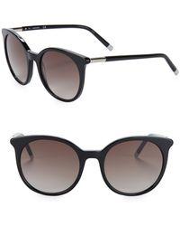 CALVIN KLEIN 205W39NYC - 54mm Round Sunglasses - Lyst