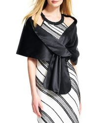Adrianna Papell - Pull Through Wrap - Lyst