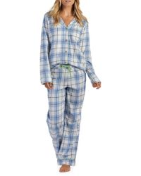UGG - Raven Plaid Two-piece Pyjama Trousers & Shirt Set - Lyst