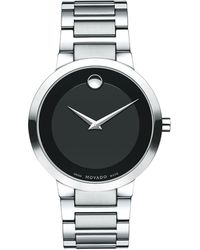 Movado - Modern Classic Stainless Steel Bracelet Watch - Lyst