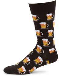 Hot Sox - Beer Mug Socks - Lyst