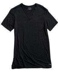 CALVIN KLEIN 205W39NYC - V-neck Short Sleeve Tee - Lyst