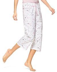 Hue - Dwink Dwink Cotton Capri Pajama Pants - Lyst