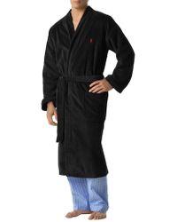 Polo Ralph Lauren - Cotton Kimono Robe - Lyst