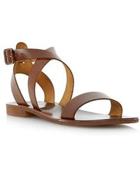 Dune - Lotti Leather Sandals - Lyst