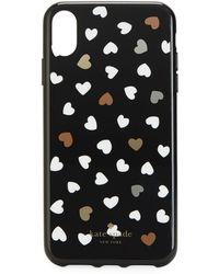 Kate Spade Heartbeat Iphone Xr - Black