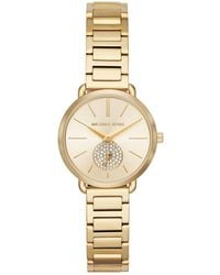 Michael Kors - Portia Bracelet Watch - Lyst