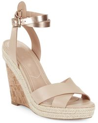 Charles David - Brit Wedge Ankle-buckle Sandals - Lyst