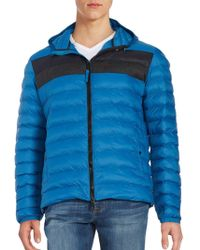 Strellson - Quilted Puffer Jacket - Lyst