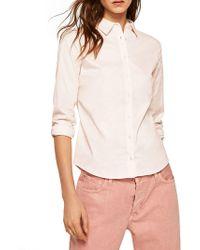 Mango - Classic Stretch Button-down Shirt - Lyst