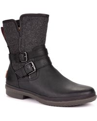 UGG - Simmens Waterproof Leather Ankle Boots - Lyst