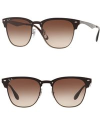 Ray-Ban - Blaze Clubmaster Sunglasses - Lyst