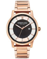 Kenneth Cole - Transparency Stainless Steel Bracelet Watch - Lyst