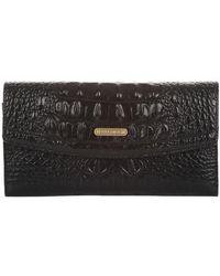 Brahmin - Melbourne Soft Checkbook Wallet - Lyst
