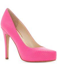 Jessica Simpson - Parisah Platform Court Shoes - Lyst