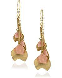 Danielle Nicole - Blossom Front Back Petal Drop Earrings - Lyst