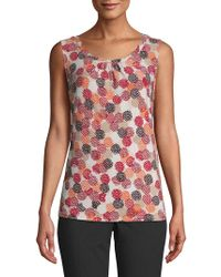 Nipon Boutique - Graphic Sleeveless Top - Lyst