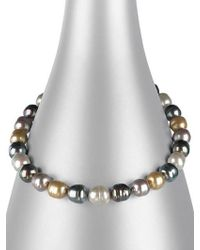 Majorica - 14mm Multicolor Baroque Pearl Necklace - Lyst
