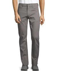 Levi's Textured Five-pocket Pants - Gray