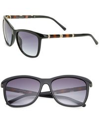 Diane von Furstenberg - Hannah 56mm Square Sunglasses - Lyst