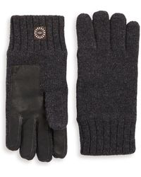 UGG - Knitted Gloves - Lyst