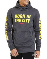 Bench - Born In The City Hoodie - Lyst