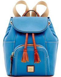 Dooney & Bourke - Pebble Grain Leather Medium Murohy Backpack - Lyst