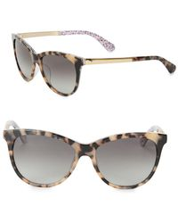Kate Spade - 55mm Jizelle Cat Eyesunglasses - Lyst