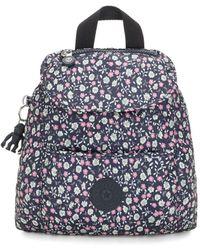 Kipling Kalani Printed Mini Backpack - Blue