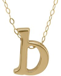 Lord & Taylor | 14k Gold Pendant Necklace | Lyst