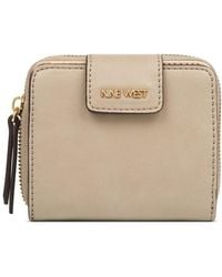 Nine West - Small Zip Indexer Wallet - Lyst
