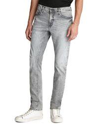 John Varvatos Bowery Slim Fit Jeans - Gray