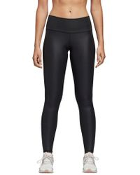bed31b08cdf adidas Climalite® High-rise Compression Leggings in Gray - Lyst