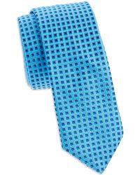 Ted Baker - Geo-print Silk Tie - Lyst
