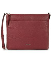 Calvin Klein - Leather Crossbody Bag - Lyst