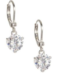 Kate Spade - Faceted Lever-back Earrings - Lyst