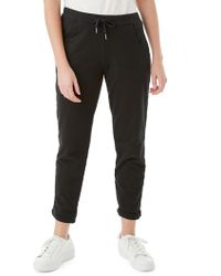 Olsen - Lisa French Terry Cropped Trousers - Lyst