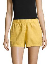 Vero Moda - Classic Stretch Shorts - Lyst