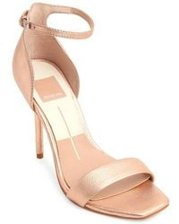 Dolce Vita - Halo Leather Ankle-strap Sandals - Lyst