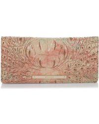 Brahmin - Ady Leather Wallet - Lyst