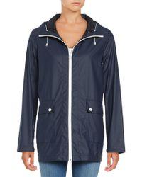 Cole Haan - Water-resistant Anorak Jacket - Lyst