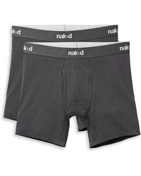 Naked - 2-pack Logo Waist Boxer Briefs - Lyst