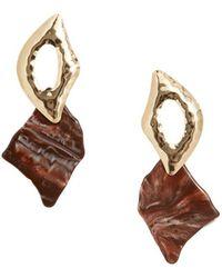 Mango - Pendiente Creek Drop Earrings - Lyst